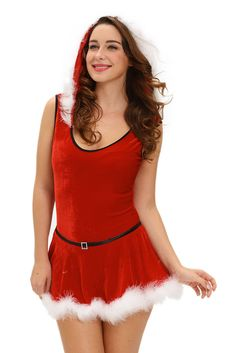 €21.24 @Modebuy #modebuy  Costumes Noel Fourrure Rouge Pere Noel Body et Jupe #sexy #model #commenting #comments4comments #shopping #TagsForLikesApp #love #followher #nouveaucollection #comments #robes #Acheter #likeall