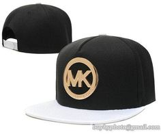 6110e4f0acd4a Cheap Wholesale MK Snapback Hats Caps Iron-Golden Black White 6 for slae at  US 8.90  snapbackhats  snapbacks  hiphop  popular  hiphocap  sportscaps ...