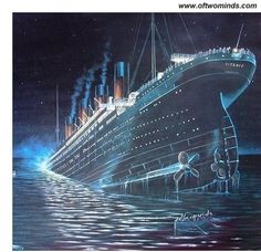 We are like passengers on the Titanic ten minutes after its fatal encounter with the iceberg: we cant believe this grand ship could sink, so we do nothing while it is still possible to influence our fate. tylernull