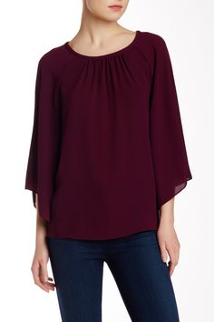 Kimono Sleeve Blouse by Vince Camuto on @nordstrom_rack