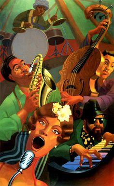Jazz Quintet by Justin Bua