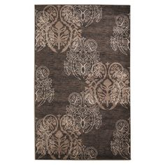 Linon Milan Collection Brown/ Beige Area Rug (1'10 x 2'10) - Overstock™ Shopping - Great Deals on Linon Accent Rugs