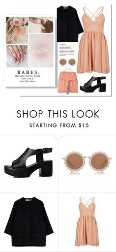 """""""Someone start a fire."""" by lolapastel ❤ liked on Polyvore featuring House of Holland, Marni, INDIE HAIR, Okhtein and nowplaying"""
