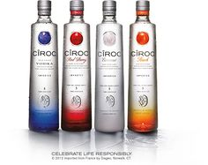 I love drinking Ciroc because it is smooth and does not have that aggressive vodka taste.  Also it is great that they have 4 different flavors so that you can make many different mixtures.