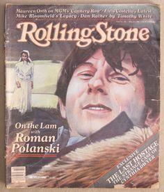 rolling stone #magazine issue 340 vintage april 2nd 1981 roman polanski  from $9.99