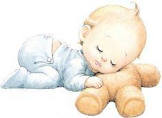 imagenes de bebe animados niños