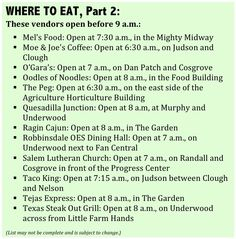 More places to dine on breakfast fare at the fair! (2013 Minnesota State Fair)