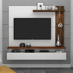 tv wall decor ideas for an efficient and effective tv wall installation process! Lcd Unit Design, Tv Wall Design, Lcd Panel Design, Modern Tv Cabinet, Modern Tv Wall Units, Wall Units For Tv, Modern Tv Room, Tv Unit Decor, Tv Wall Decor