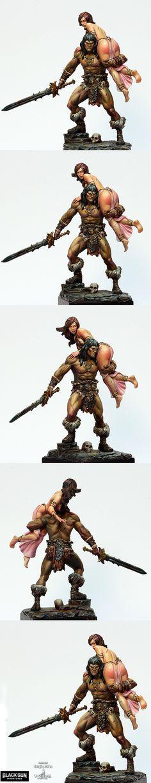 Barbarian & The Lost Princess