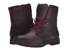 THE NORTH FACE THE NORTH FACE - BALLARD LACE (MULCH BROWN/RADIANCE PURPLE) WOMEN'S BOOTS. #thenorthface #shoes #