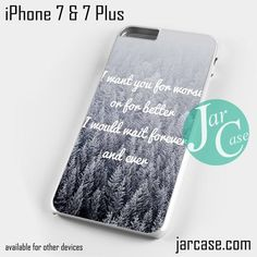 Taylor Swift I want You Phone case for iPhone 7 and 7 Plus