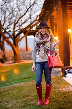 Pairing Plaid and Stripes Outfit Idea | Outlet Value Blog