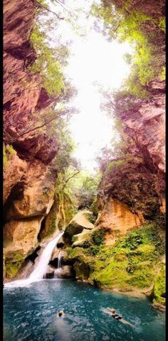 Bassin Bleu- Outside of Jacmel, Haiti   Discover one of Haiti's most spectacular sites. #fresh #haiti #beautiful #ayiticheri