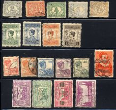 Dutch Indonesia Vintage Postage Stamps 1900 to by FoundAround, $5.00