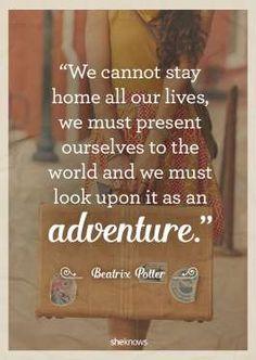 What an adventure life is. - Julie Ryan Evans