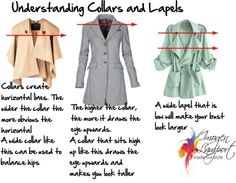 Choosing Collars To Balance Your Figure | Inside Out Style
