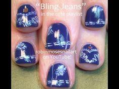 designer jean nail art by robin moses.