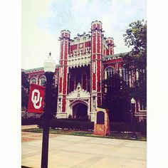 Bizzell Memorial Library in Norman, Oklahoma