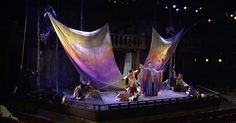 Image result for creating sails with fabric for theatre