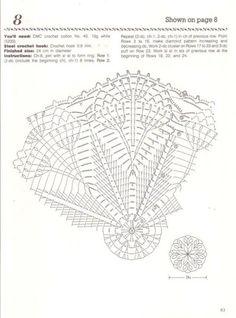 Nihon Vogue Fancy Crochet Lace - רחל ברעם - Álbumes web de Picasa