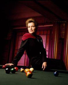 Captain Kathryn Janeway...