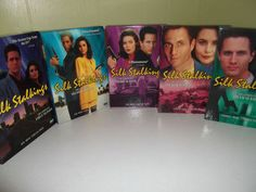http://www.ebay.com/itm/SILK-STALKINGS-COMPLETE-5-SEASONS-24-DISCS-LIKE-NEW-/160801135122?pt=US_DVD_HD_DVD_Blu_ray=item25707e9a12