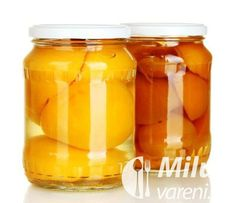 Zavařené broskve v cukru Food And Drink, Honey, Jar, Drinks, Drinking, Beverages, Drink, Jars, Beverage
