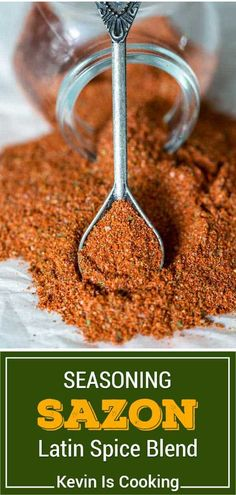 Spice Blends, Spice Mixes, Sazon Seasoning, World's Best Food, Food Dye, Cooking Recipes, Lunch Recipes, Dinner Recipes, Healthy Recipes