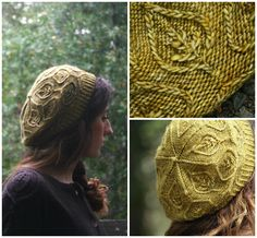 Pressed Leaves-- This pattern is part of Alana Dakos' design book, Botanical Knits, due out February 2013.