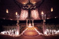 A Glamorous Winter Wedding With Art-Deco Touches at Gotham Hall in New York City Wedding Reception, Wedding Venues, Instead Of Flowers, Glass Domes, Gotham, Real Weddings, Art Deco, Glamour, Ceiling Lights