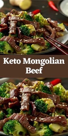 Mongolian pork is a totally mysterious recipe that came to us from China. You've possibly seen it in Asian restaurants, particularly Chinese takeaways. Beef Meatloaf Recipes, Best Beef Recipes, Popular Recipes, Slow Cooker Recipes, Easy Recipes, Keto Recipes, Easy Meals, Cooking Recipes, Date Dinner