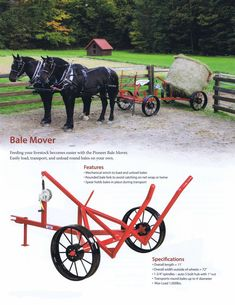 Pioneer Bale Mover