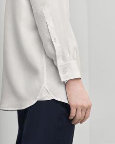 Silk Shirt White - Blouses - Shop Woman - Filippa K