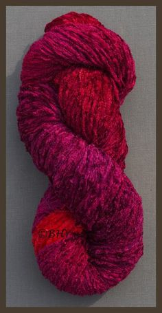 Blue Heron Chenille Yarn: Raspberry