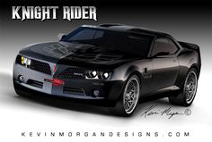 Kevin Morgan's Knight Rider Concept Car. KITT, come here. I need you. ;)