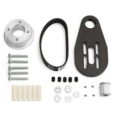 DIY-Elektro-Skateboard-Kit-Riemenscheiben-Motoren-Motorhalterung-Fuer-80MM-Rad