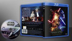 Stars Wars - O Despertar Da Força ( Blu-Ray) Oficial - Capa | VITRINE - Galeria De Capas - Designer Covers Custom | Capas & Labels Customizados