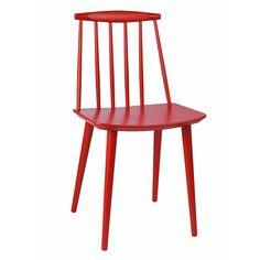 silla nórdica de madera para cafetería, modelo RIBE.