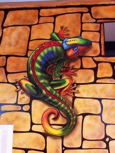 Graffiti y pintura mural decorativa 2