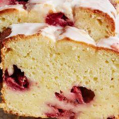 Lemon Raspberry Pound Cake recipe