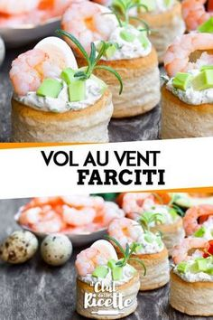 Ripieni per vol au vent Appetizer Dishes, Yummy Appetizers, Appetizer Recipes, Vol Au Vent, Italian Finger Foods, Romanian Food, Mousse, Valentines Food, Food Humor