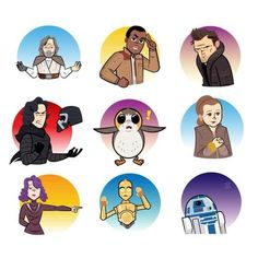 Choose your fate with the new Facebook Stickers from #StarWars: #TheLastJedi. Get the pack via link in bio.