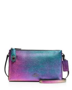 COACH Crosby Crossbody in Hologram Leather | Bloomingdale's
