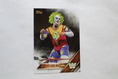 2016 TOPPS WWE BASE CARD LEGEND DOINK THE CLOWN # 61