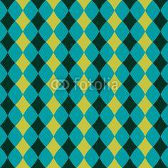 pixers.fr Seamless pattern avec des losanges blancs 36 €