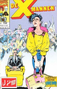 X-Mannen #152 Verhuisdag