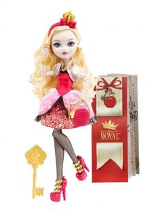Amazon.com: Apple White - Ever After High Doll: Toys & Games