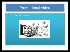 ReeTutorial - Promotional video for Udemy course. How to Make a Promotional Video for Udemy. Kids English, Promotion, Teaching, Education, Onderwijs, Learning, Tutorials