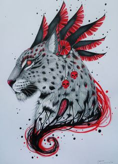 warrior_leopard_by_scandycurll-d8xzy4k.jpg (2967×4129)