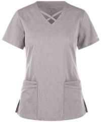 Be fashionable and flexible all day long with the UA Butter-Soft STRETCH Criss Cross Scrub Top. Find great fashion scrub tops today, only at Uniform Advantage! Scrubs Outfit, Scrubs Uniform, Uniform Shop, Criss Cross, Girl Fashion, Fashion Looks, Fashion Models, Yoga Scrub Pants, Cherokee Scrubs